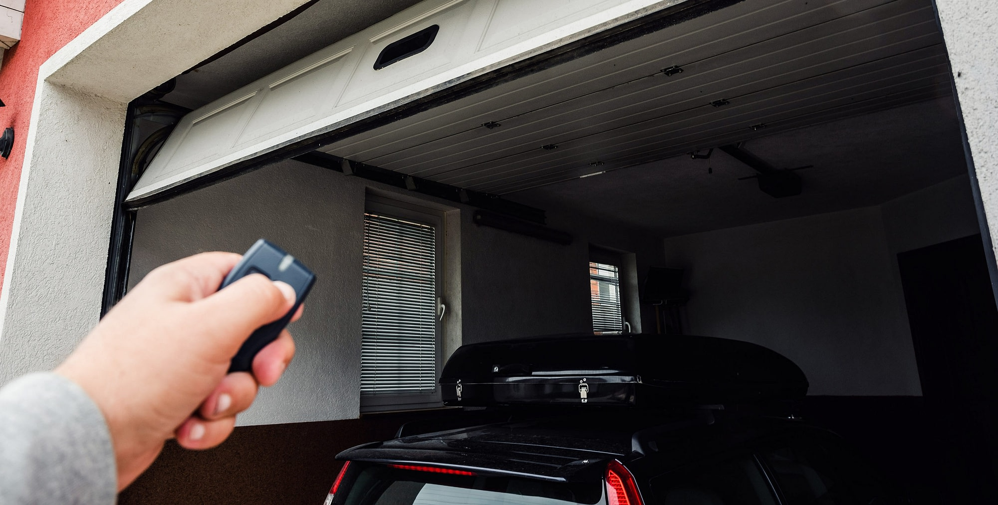 garage door opener size