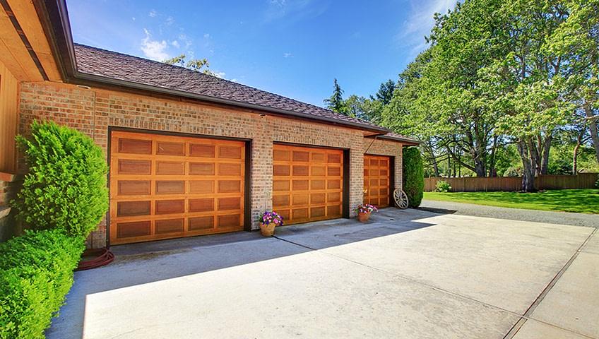 Nice garage doors
